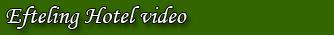 Efteling Hotel video