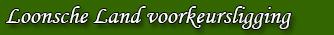 Efteling Loonsche Land Hut voorkeursligging