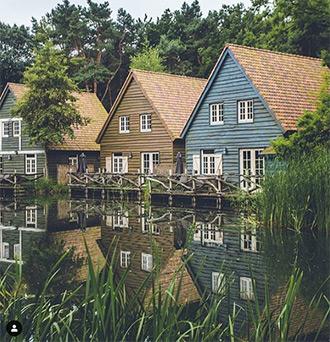 Vakantiepark Efteling Bosrijk op Instagram